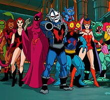 The Evil Horde Filmation Style by santalux