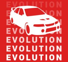 Mitsubishi Evolution JDM Car Shirt by MikeKunak