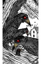 Crow by gigaillustrator