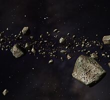 Kuiper Belt by Paul Fleet