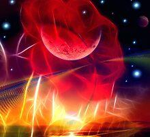 Lunar Rose by Brian Exton