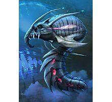 Underwater creature_second version Photographic Print