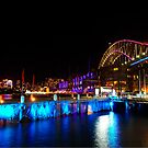 Vivid Sydney | Harbour Bridge | 2014 by Bill Fonseca