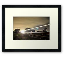 Ghost Train Framed Print