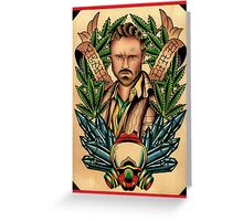 Breaking Bad - Jesse Pinkman Tribute Greeting Card