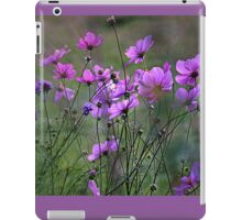 Autumn Colours - Purple Windflowers iPad Case/Skin
