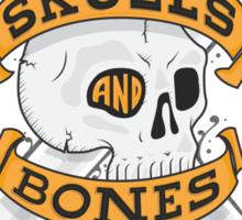 SKULLS AND BONES Sticker