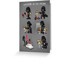 Father of the Year Greeting Card