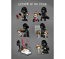 Father of the Year Photographic Print