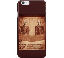 The fight of the Century - Jack Crawford vs Hannibal Lecter iPhone Case/Skin