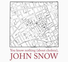 """You know nothing (about cholera), John Snow"" by Alberto Cairo"