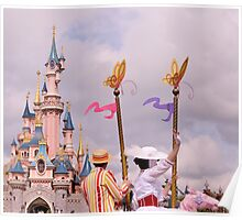 Sleeping Beauty's Castle With Mary and Bert Poster