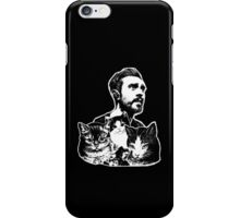 Kyle // Cats (colored shirts) iPhone Case/Skin