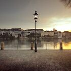 By the Rhein, Basel. by Laurent Hunziker