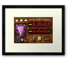 Steampunk - Temporal Flux Framed Print