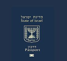 ISRAELI PASSPORT CASE by Nornberg77