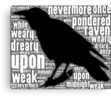 That Raven Canvas Print