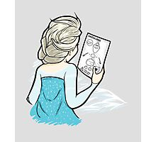 How to Build a Snowman (Frozen) Photographic Print