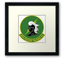 49th Fighter Training Squadron Framed Print