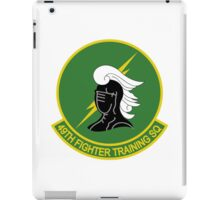 49th Fighter Training Squadron iPad Case/Skin