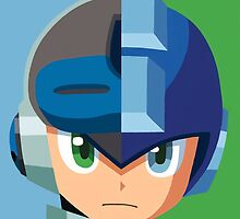 Mega Man - Mighty No 9 Poster! by Andrew Wood
