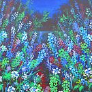Meadow in Blue and Green by Barbara Smith