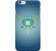Spring (in Blue) iPhone Case/Skin