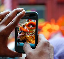 Chinese New Year dragon iPhone by thommoore