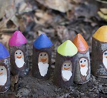 Leafy Gnomes by Urbanfringe