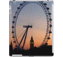 London sunset skyline iPad Case/Skin