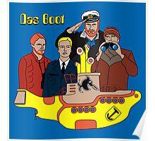 Das Yellow Boot Poster