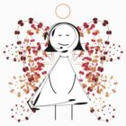 Floral Angel by catherine bosman