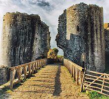 Castle Crossing by Vicki Field