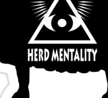 Dont Be A Sheep - Herd Mentality Sticker