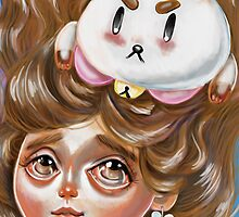 A Bee and Her PuppyCat by Kristin Frenzel