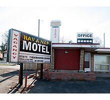 Hav A Nap Motel Photographic Print
