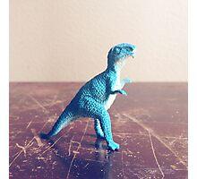 Blue Dinosaur  Photographic Print