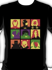 Earth's Mightiest Heroes T-Shirt