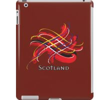 Scotland Tartan Twist iPad Case/Skin