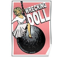 Wrecking Doll (pink) Poster