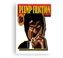 Plump Friction Canvas Print