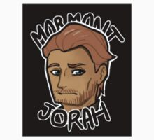 Chibi Jorah Mormont - Black BG Sticker by BlackLemonJuice