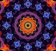 Purple Mandala  by LudaNayvelt