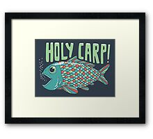 Holy Carp! Framed Print