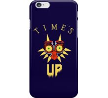Majora's Mask - Time's Up iPhone Case/Skin