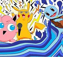 Pokemon Rockstars by BRautman