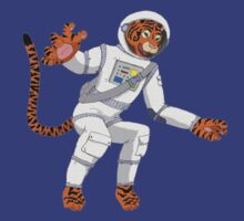 Space Tiger Astronaut by AJ Parsons-Taylor