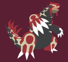 GROUDON Omega Ruby by kyubara
