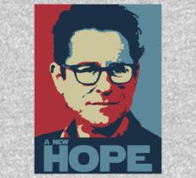 JJ Abrams Hope - In JJ We Trust by HelloGreedo