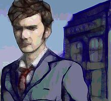 Doctor Who - Tenth Doctor Fan Art by BagChemistry